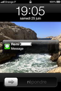 Message apercu iOS 5 iOS 5 Béta 2 : aperçu des notifications modifiées