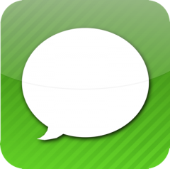 Message icon iOS iOS5 : Paramétrez vos propres raccourcis de texte !