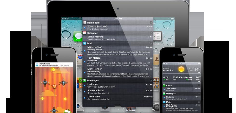 Notification features iOS5 et iCloud seront disponibles gratuitement le 12 octobre !