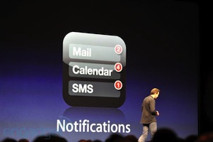 Notification iOS 5 Déclenchement du Flash pour les notifications / appels