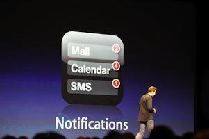 Notification iOS 5 Déclenchement du Flash pour les notifications / appels