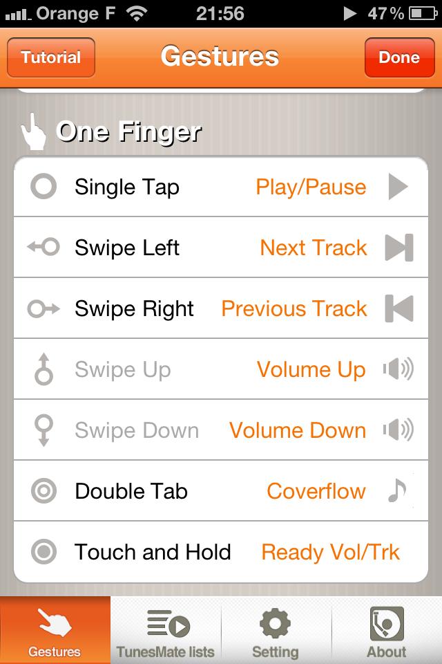 Options1 [EDIT] 10 codes à gagner TunesMate Pro (1,59 €) : une alternative à lapplication native iPod
