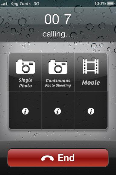 Outils espion 3 5 codes à gagner de Outils Espions   Filmez et prenez des photos en toute discrétion (0,79€)