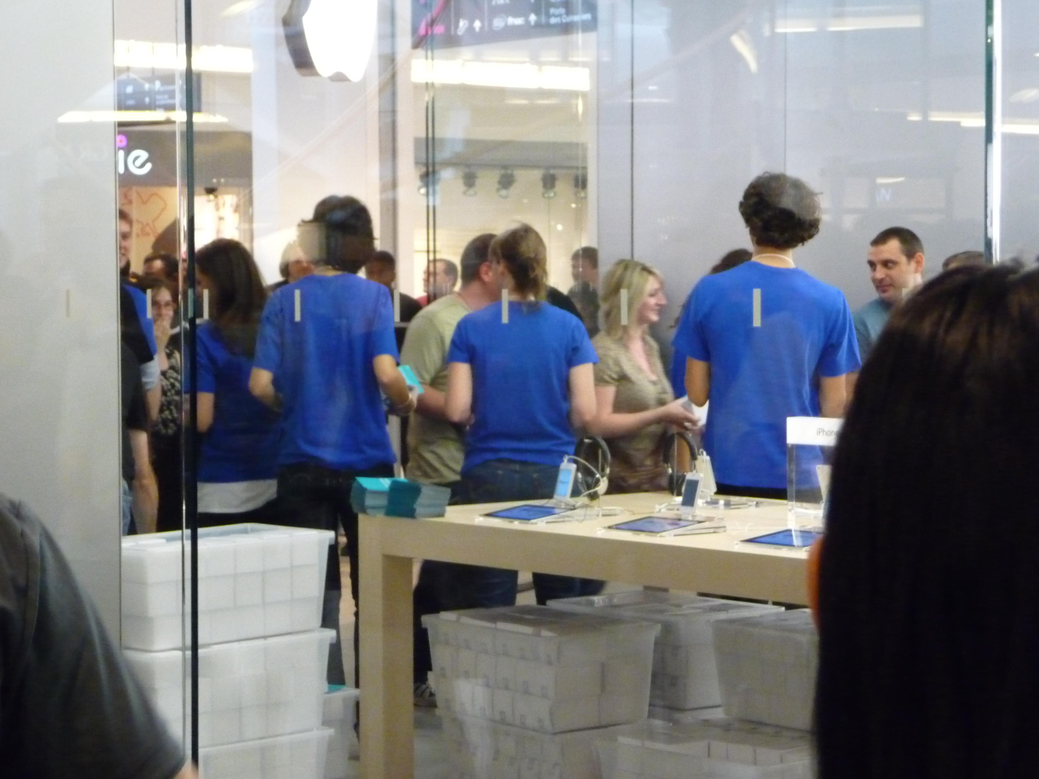 P1040955 Ouverture Apple Store Lyon Part Dieu : vivez lévénement comme si vous y étiez !