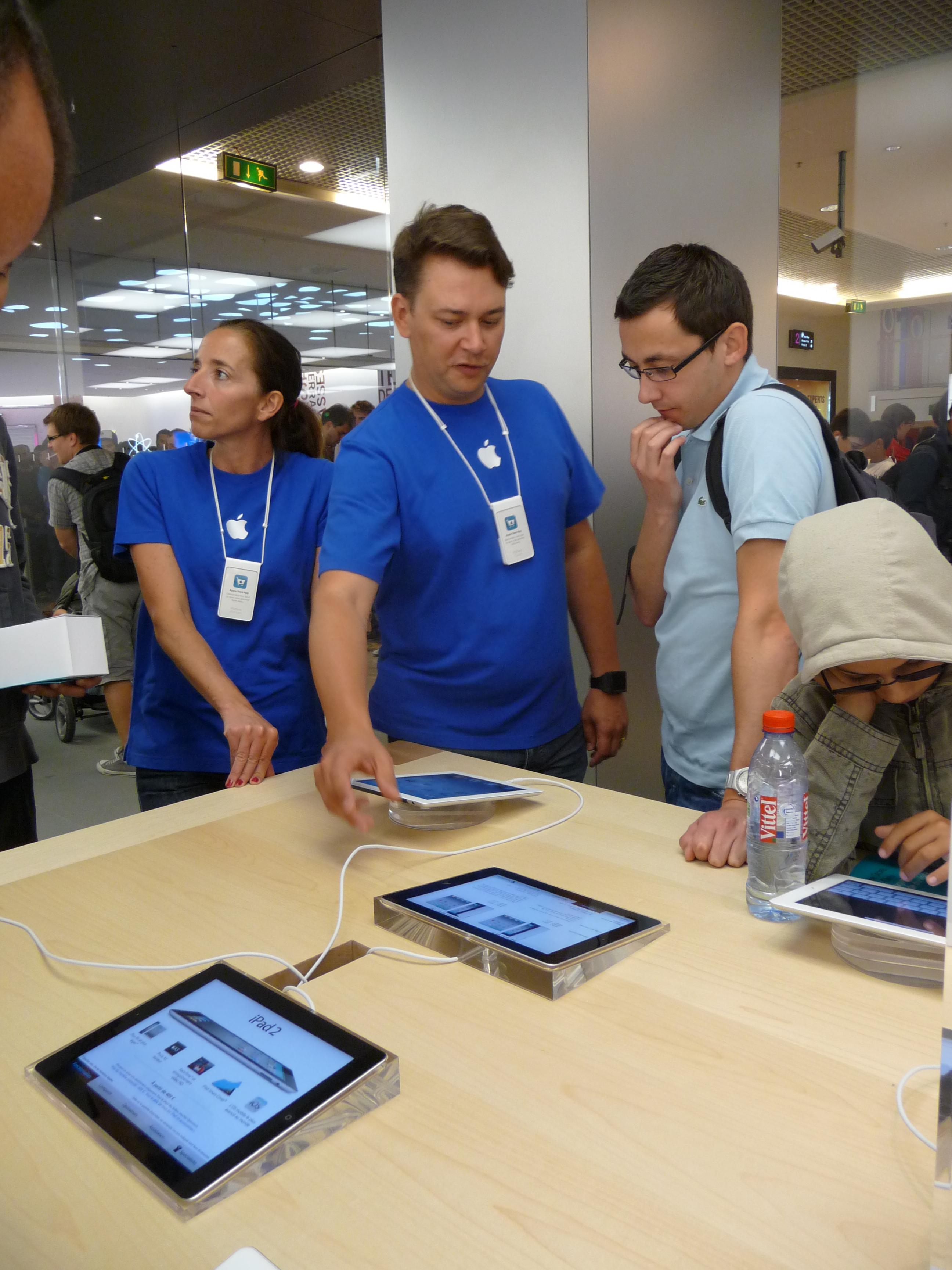 P1040981 Ouverture Apple Store Lyon Part Dieu : vivez lévénement comme si vous y étiez !