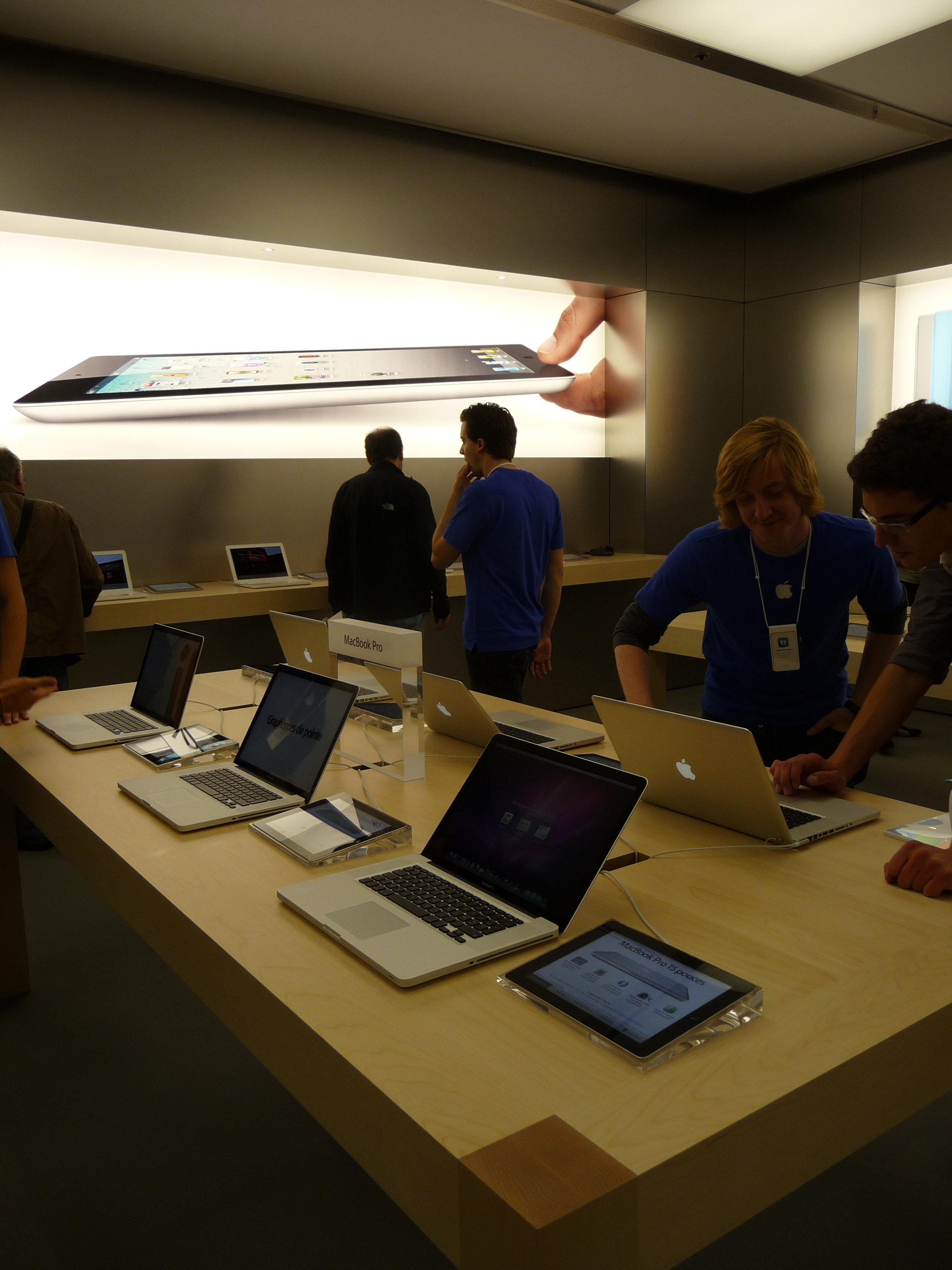 P1040985 Ouverture Apple Store Lyon Part Dieu : vivez lévénement comme si vous y étiez !
