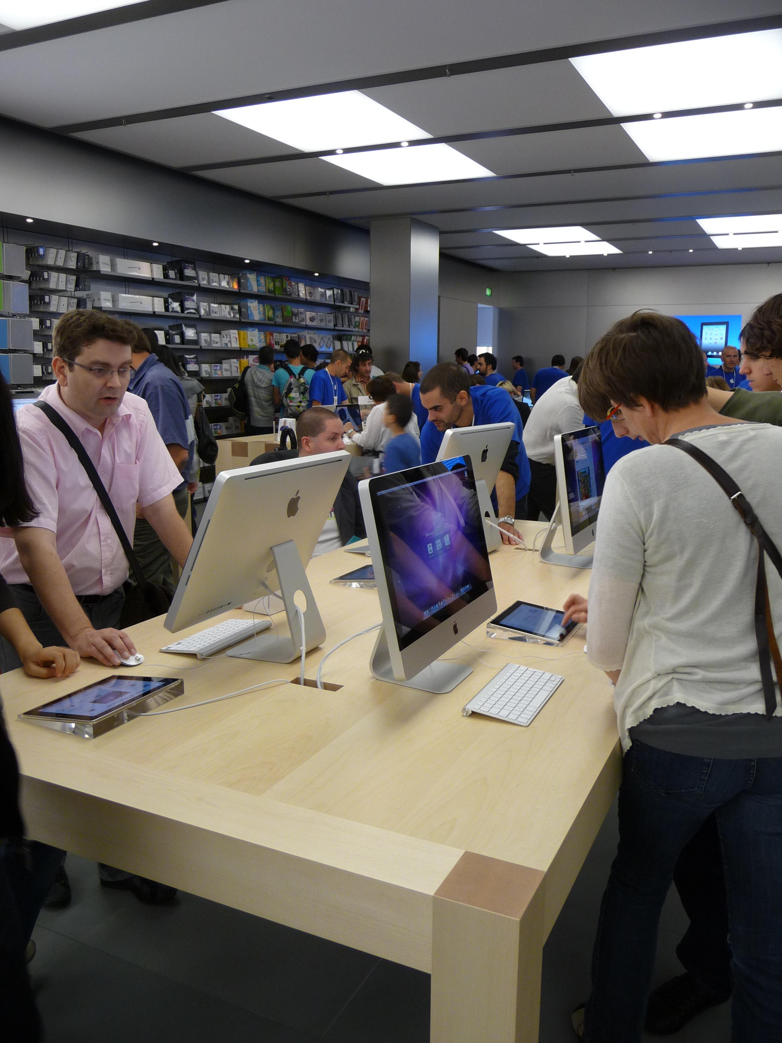 P1040986 Ouverture Apple Store Lyon Part Dieu : vivez lévénement comme si vous y étiez !
