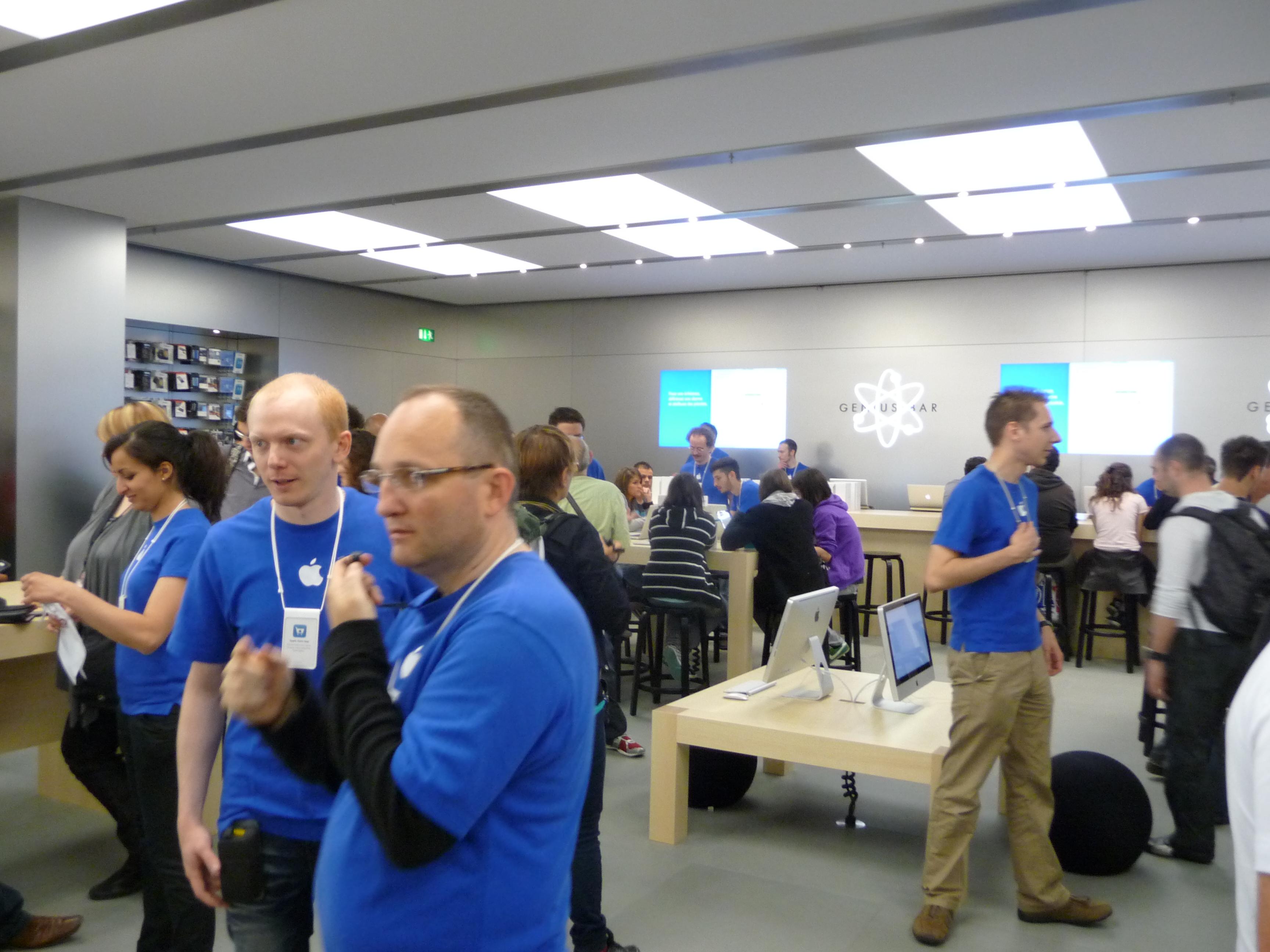 P1040990 Ouverture Apple Store Lyon Part Dieu : vivez lévénement comme si vous y étiez !