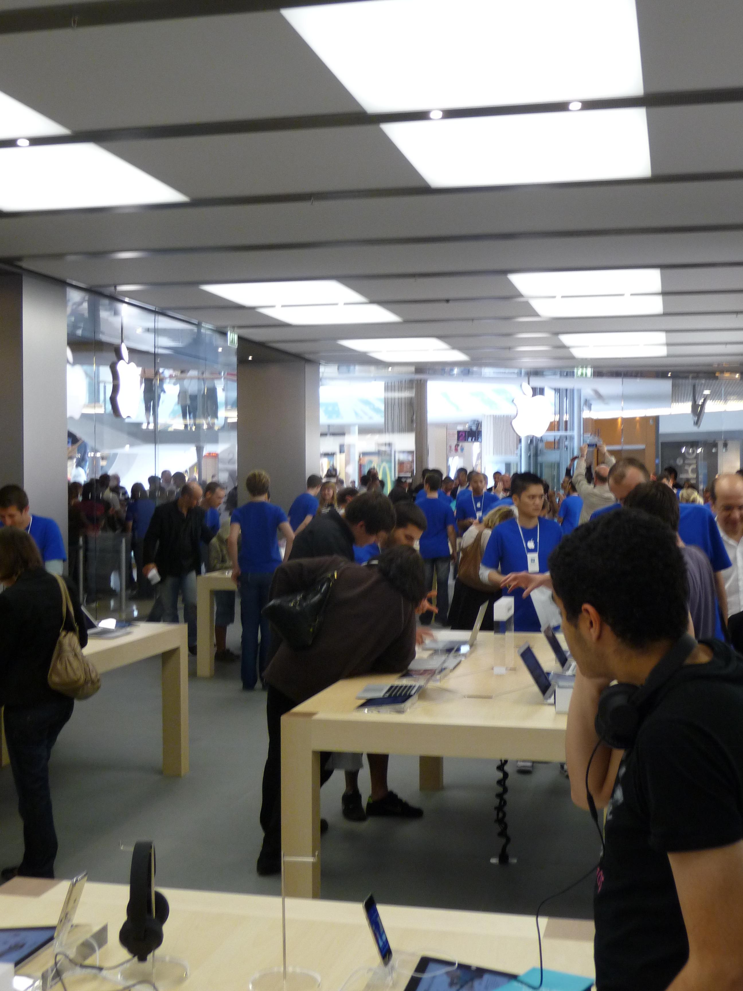 P1040994 Ouverture Apple Store Lyon Part Dieu : vivez lévénement comme si vous y étiez !