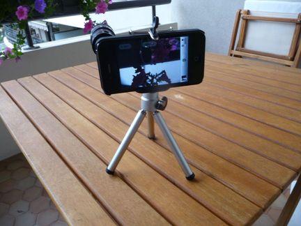 P1050105 [Test] Transformez vous en paparazzi avec le téléobjectif pour iPhone! (~25€)
