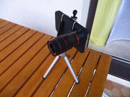 P1050106 [Test] Transformez vous en paparazzi avec le téléobjectif pour iPhone! (~25€)