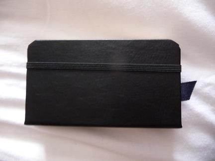 P1050114 [Test] Un petit cahier noir pour votre iPhone/iPod Touch? (~28€)
