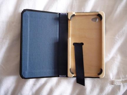 P1050119 [Test] Un petit cahier noir pour votre iPhone/iPod Touch? (~28€)