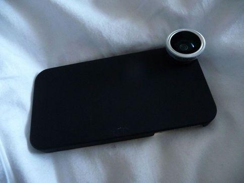 P1050132 [Test] Offrez trois objectifs à votre iPhone: Fisheye, Macro et Grand Angle (~30€)