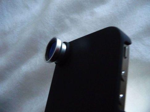 P1050136 [Test] Offrez trois objectifs à votre iPhone: Fisheye, Macro et Grand Angle (~30€)