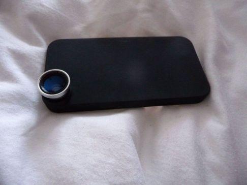P1050137 [Test] Offrez trois objectifs à votre iPhone: Fisheye, Macro et Grand Angle (~30€)