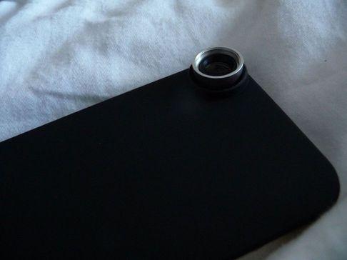 P1050139 [Test] Offrez trois objectifs à votre iPhone: Fisheye, Macro et Grand Angle (~30€)