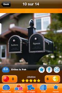 Photo Blagues 9 codes à gagner JokeBox (0,79€) : lapplication hilarante remplie de blagues