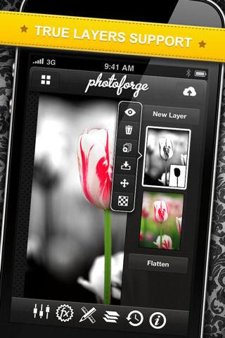 PhotoForge 2 [EDIT] Les bons plans de lApp Store ce samedi 25 juin 2011