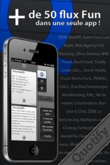 Quotify free Les bons plans de lApp Store ce lundi 27 juin 2011 (Bonnes Apps)