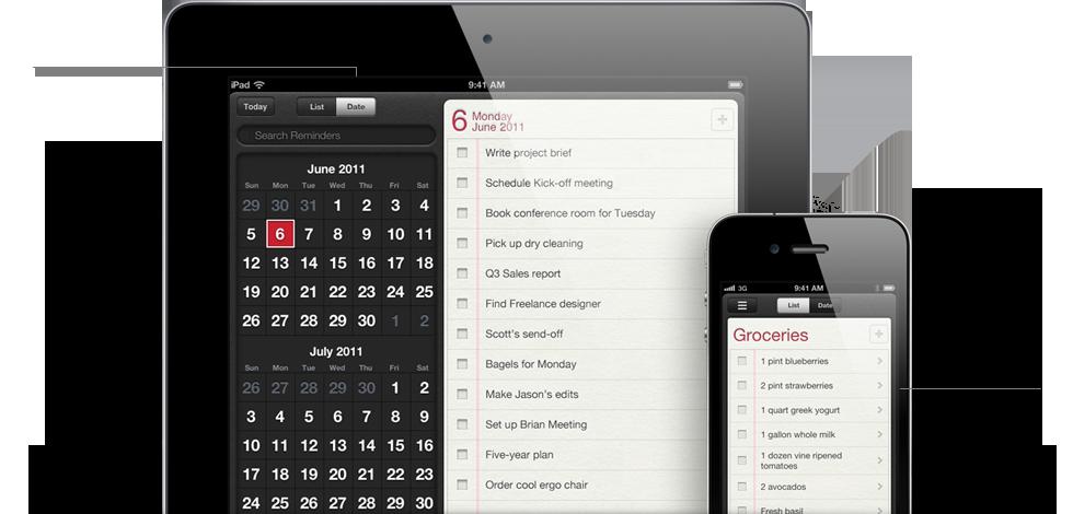 Reminders Récapitulatif de la Keynote : Tout savoir sur iOS5