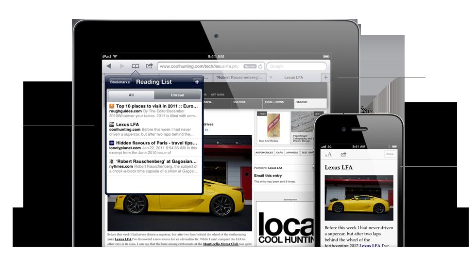 Safari features Récapitulatif de la Keynote : Tout savoir sur iOS5