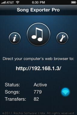 Song exporter pro [EDIT] Les bons plans de lApp Store ce mercredi 29 juin 2011