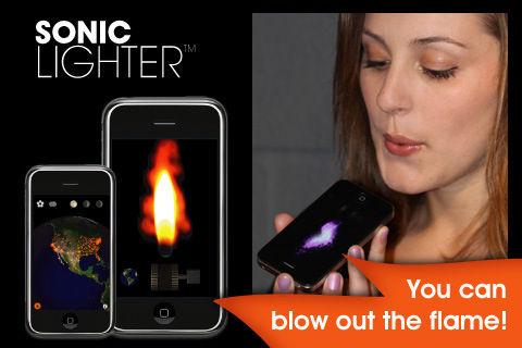 Sonic lighter [EDIT] Les bons plans de lApp Store ce samedi 18 juin 2011 (Bonnes Apps)