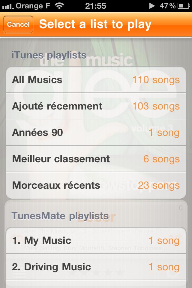 Stats [EDIT] 10 codes à gagner TunesMate Pro (1,59 €) : une alternative à lapplication native iPod