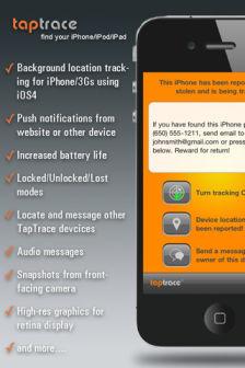 Taptrace pro1 Les bons plans de lApp Store ce jeudi 30 juin 2011 (Promos Gameloft)