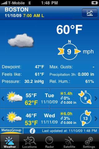 WeatherPro Les bons plans de lApp Store ce mercredi 22 juin 2011