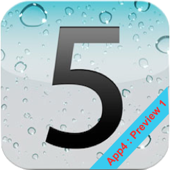 iOS5 icon App4Phone.fr : Premier aperçu diOS5   Notification Center, Photos, et Reminders
