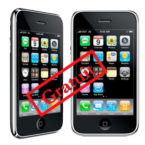 iPhone 3Gs gratuit Et si liPhone Low Cost était en vérité un iPhone 3Gs passant gratuit ?