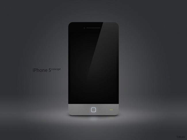 iPhone 5 concept 3 3 nouveaux concepts pour liPhone 5 dApple