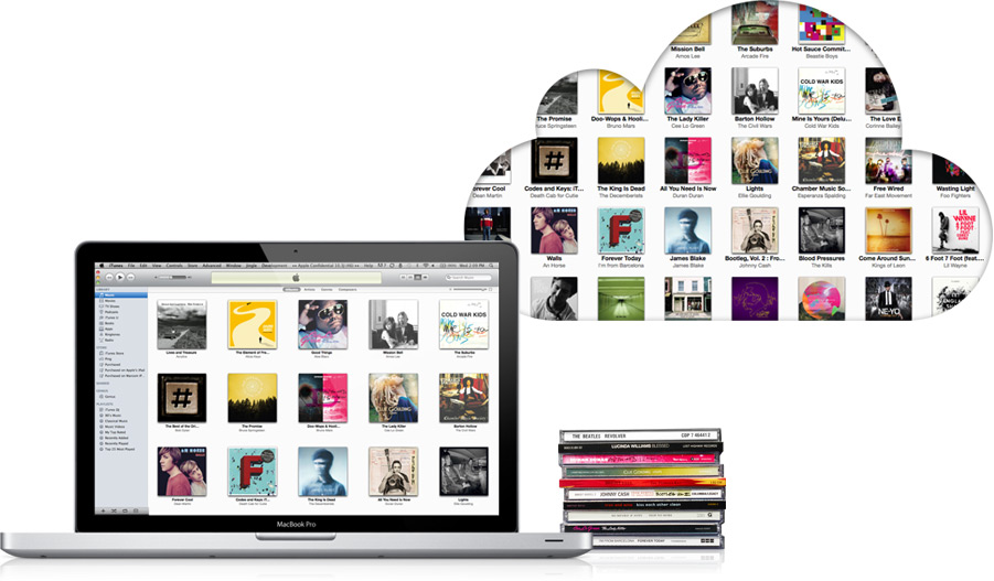iTunes Match iCloud iTunes Match : Ou comment blanchir ses musiques obtenues illégalement