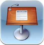 icone keynote Test de iWork 1/3   Keynote, créer des diaporamas de qualité sur iPhone (7,99€)