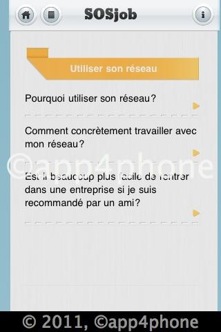 [Màj] 5 codes à gagner de SOS Job   Des conseils pour trouver un emploi avec votre iPhone (0,79€)