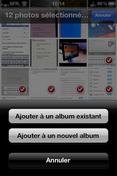 ios5 captures 16 App4Phone.fr : Premier aperçu diOS5   Notification Center, Photos, et Reminders