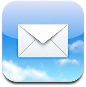iphone mail icon iOS 5 : Marquez rapidement des mails en lus ou avec un drapeau