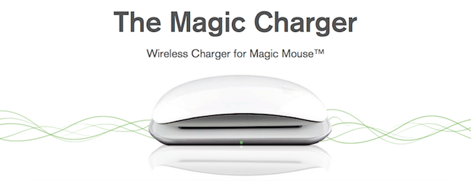 magic charger main1 Test du Magic Charger   Un chargeur à induction pour la Magic Mouse (49,90€)