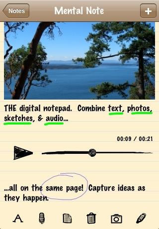 mzl.xsborwjx.320x480 75 Test de Mental Note   une application de prise de notes diablement efficace (2,39€)