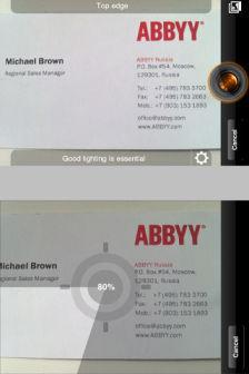 ABBYY business card reader Les bons plans de lApp Store ce jeudi 7 juillet 2011 (Bonnes Apps)