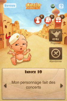 Akinator cademie Les bons plans de lApp Store ce samedi 16 juillet 2011 (Bonnes Apps)