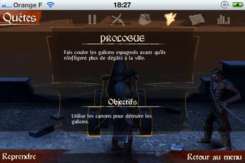 Backstab 0017 [Test] [+] Backstab   incarnez Henry Blake, le nouveau héros de Gameloft (5,49€)