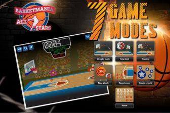 Basket mania Les bons plans de lApp Store ce samedi 16 juillet 2011 (Bonnes Apps)