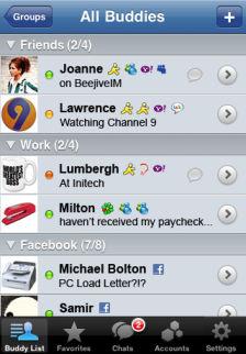 Beejive IM Les bons plans de lApp Store ce mardi 12 juillet 2011