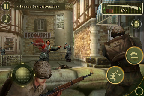 Brother in Arms 2 Nombreuses promotions chez Gameloft ce week end
