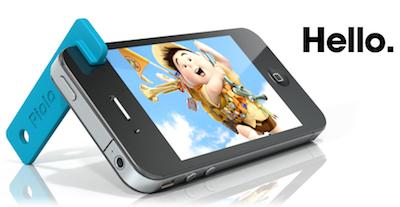Capture d%E2%80%99%C3%A9cran 2011 07 29 %C3%A0 16.28.46 2 Piolo à gagner   Un mini support pour iPhone 4 ultra pratique (4,50€)