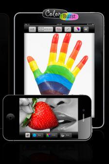 ColorBurst Les bons plans de lApp Store ce jeudi 7 juillet 2011 (Bonnes Apps)