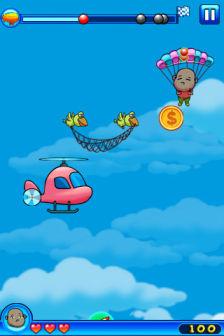 Crazy Parachute [Màj] Les bons plans de lApp Store ce dimanche 10 juillet 2011